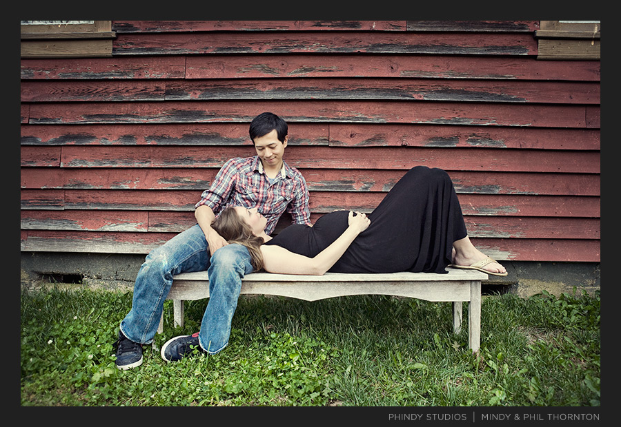 Maternity session at Liepers Fork
