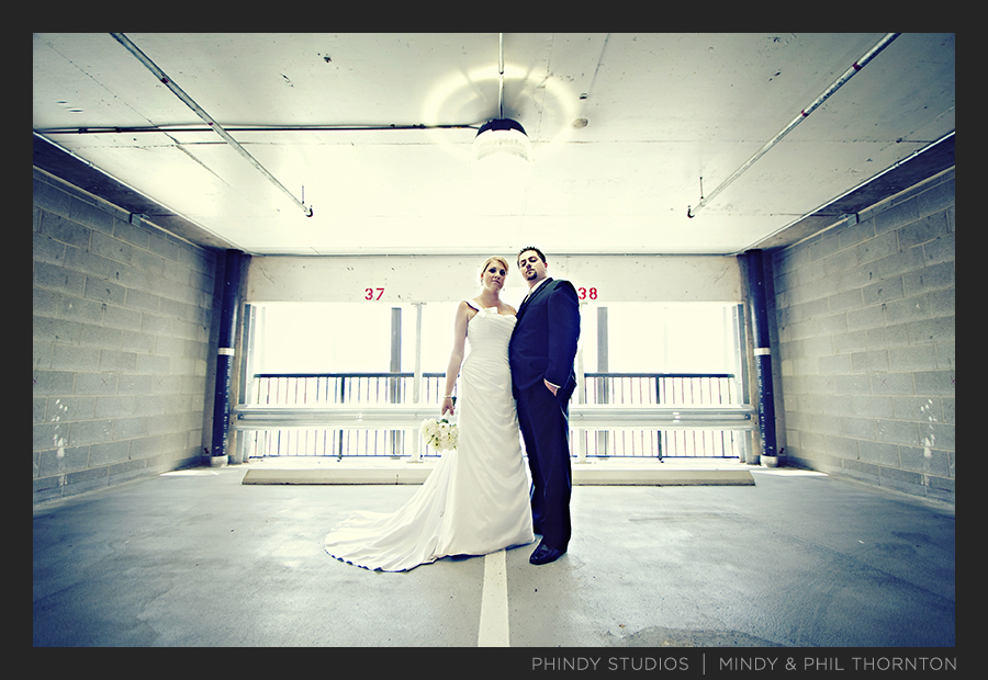 couples_portrait_parking garage_hutton hotel